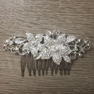 Hair Brooches- beautiful for a wedding